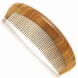 Handcraft Green Sandalwood Sandal Wood Hair Care Comb Gift 15.2 cm